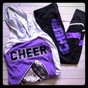 Justice Cheer Outfit Size 18/20